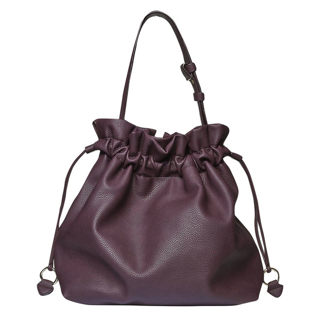 Womens Bucket Bag bata, fialová, 961-5369 - 26