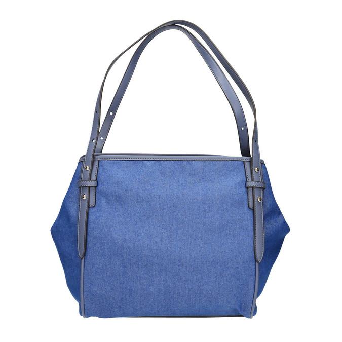 Dámská modrá kabelka bata, modrá, 969-9453 - 26