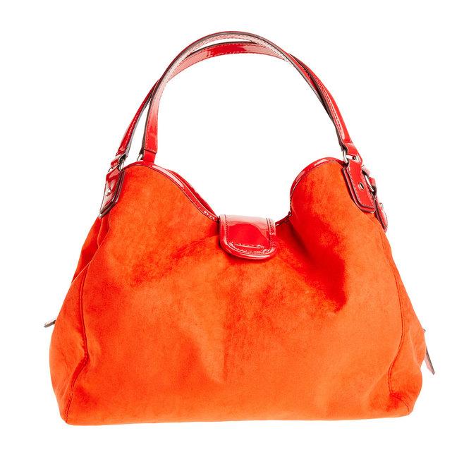 Červená dámská kabelka bata, červená, 969-5280 - 26
