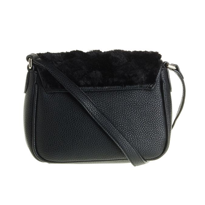 Crossbody kabelka s kožešinkou  bata, černá, 961-6656 - 26