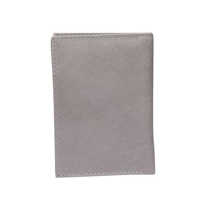 Kožené pouzdro na karty bata, šedá, 944-2158 - 26