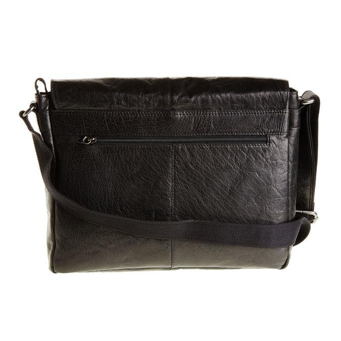 Kožená brašna bata, černá, 964-6178 - 26