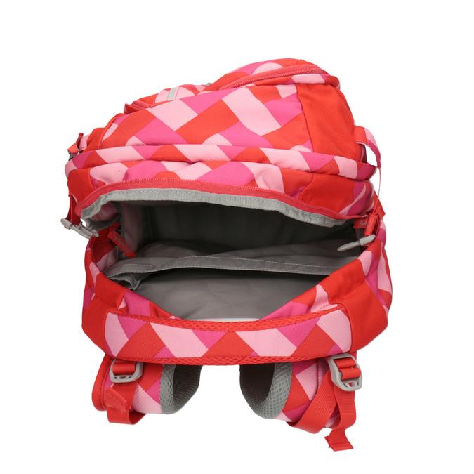 Dívčí školní batoh satch, červená, 969-5088 - 15