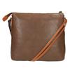 Kožená Crossbody kabelka weinbrenner, hnědá, 964-4193 - 19