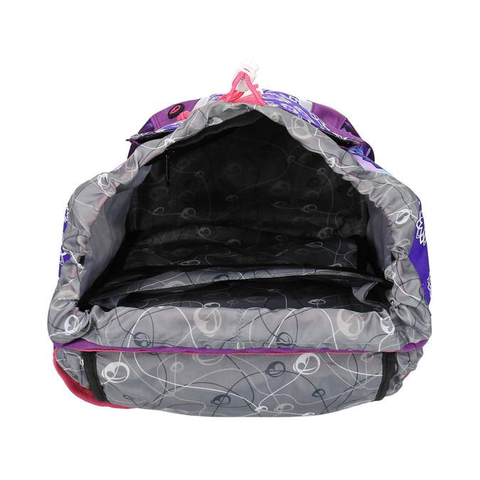 Nastavitelný školní batoh s jednorožcem bagmaster, fialová, 969-5611 - 15
