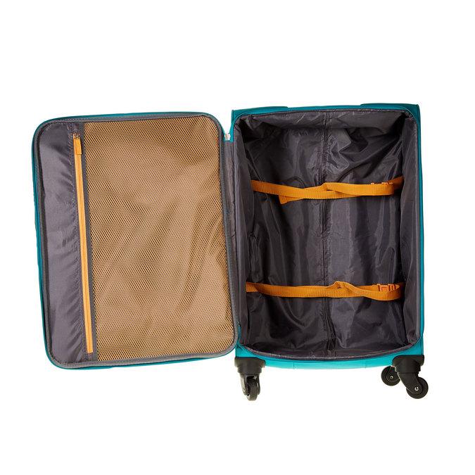 Cestovní kufr na kolečkách american-tourister, tyrkysová, 969-7108 - 15