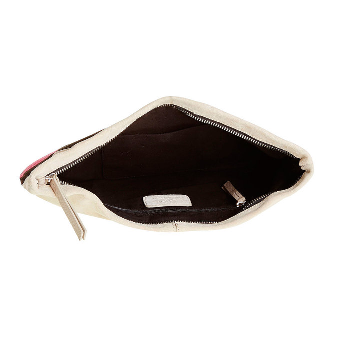 Kožená crossbody kabelka bata, černá, 963-6125 - 15