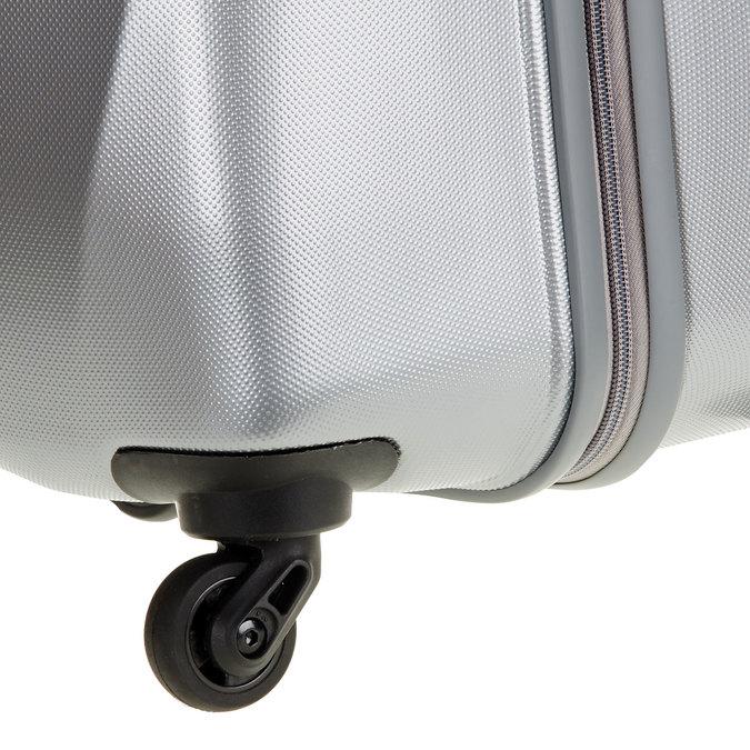 Skořepinový kufr na kolečkách carlton, šedá, 960-2103 - 19