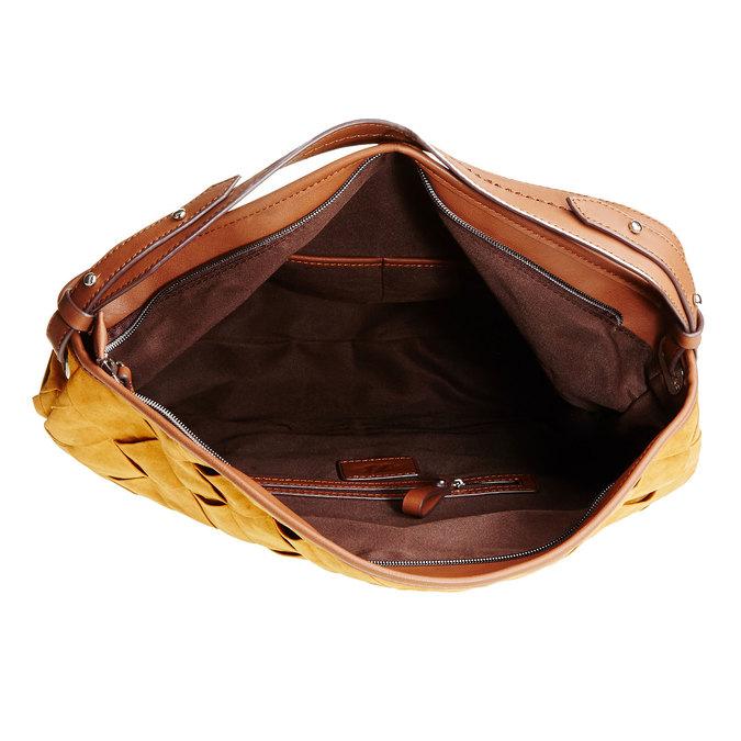Hobo kabelka bata, hnědá, 969-3259 - 15