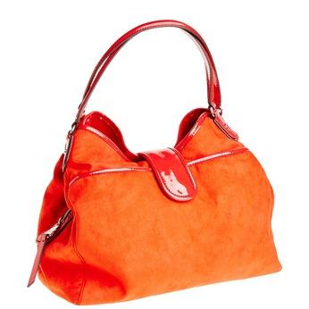 Červená dámská kabelka bata, červená, 969-5280 - 13