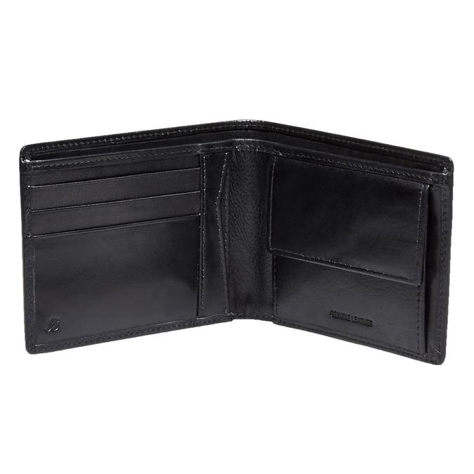 Kožená pánská peněženka bata, černá, 944-6122 - 15