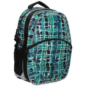 Dětský školní batoh bagmaster, modrá, zelená, 969-9602 - 13