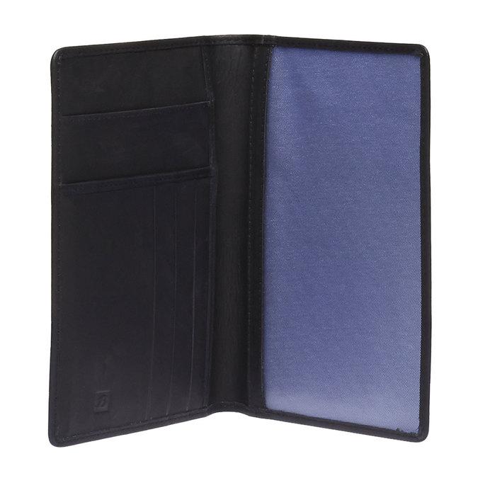 Kožené pouzdro na karty bata, černá, 944-6159 - 15