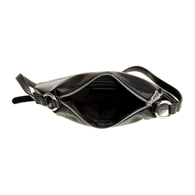 Crossbody kabelka bata, černá, 961-6757 - 15