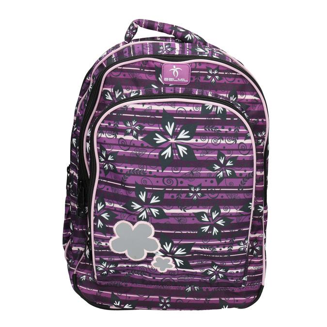 Fialový školní batoh belmil, fialová, 969-5628 - 19