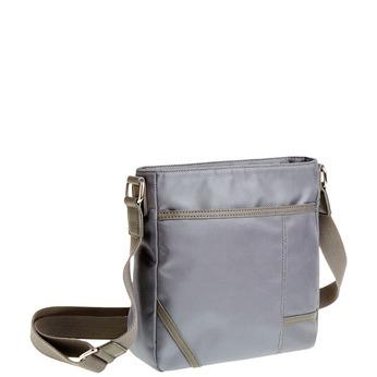 Pánská Crossbody taška bata, šedá, 969-2324 - 13