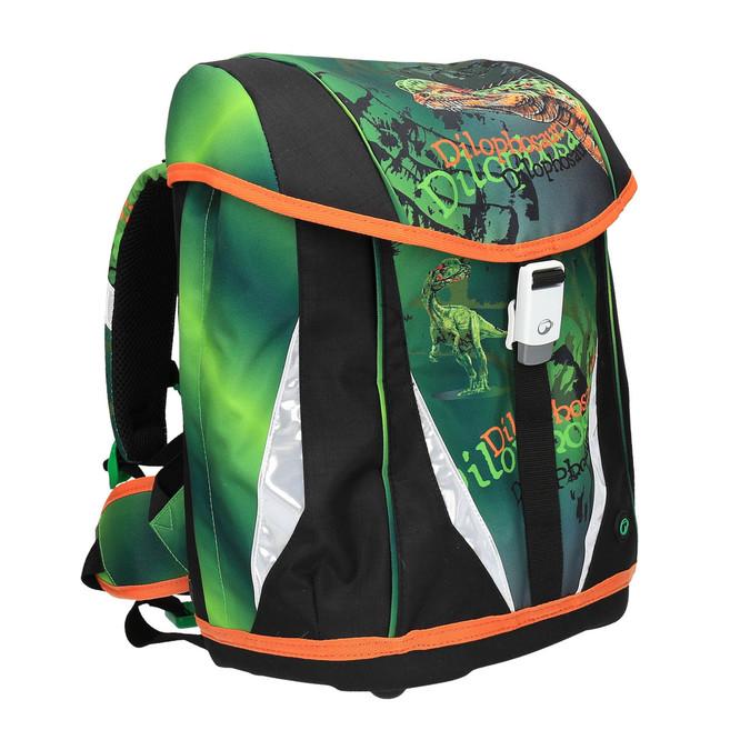 Zelený školní batoh bagmaster, zelená, 969-7612 - 13