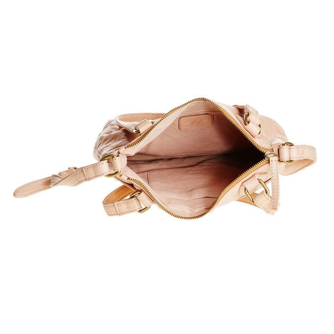 Kožená kabelka s popruhem bata, 964-5189 - 15