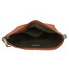 Kožená Crossbody kabelka weinbrenner, hnědá, 964-3201 - 15