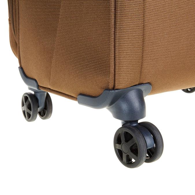Textilní cestovní kufr na kolečkách samsonite, hnědá, 969-3343 - 19