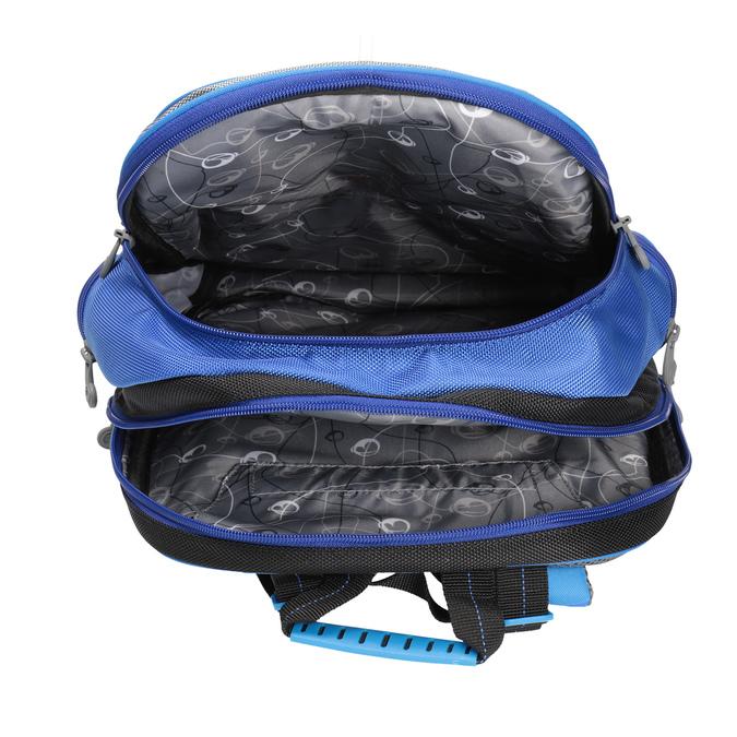 Chlapecký školní batoh bagmaster, modrá, 969-9608 - 17