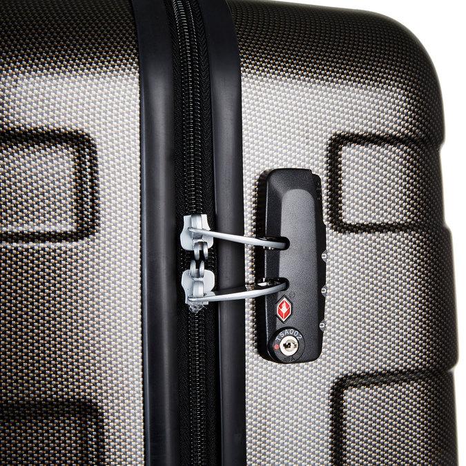 Skořepinový kufr na kolečkách american-tourister, černá, 960-6104 - 17