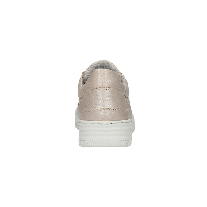 Dámské kožené tenisky bata, růžová, 526-5612 - 17
