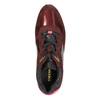 Vínové kožené tenisky geox, červená, 623-5030 - 19