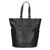 Dámská černá kabelka s kamínky bata, černá, 961-6118 - 19