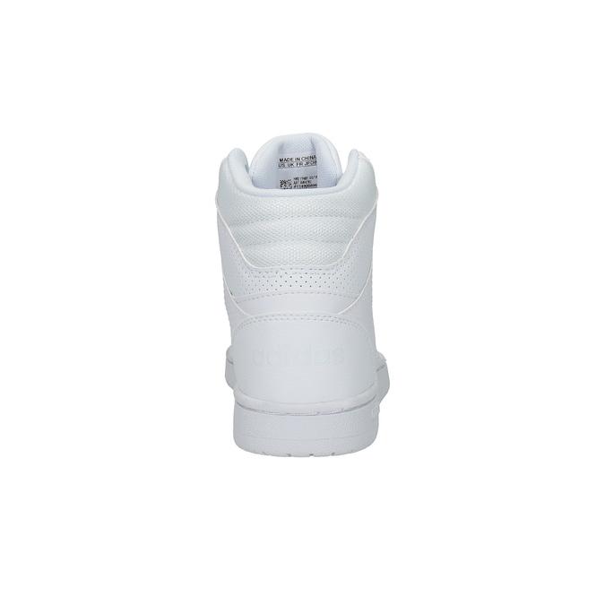 Bílé kotníčkové tenisky adidas, bílá, 501-1741 - 17
