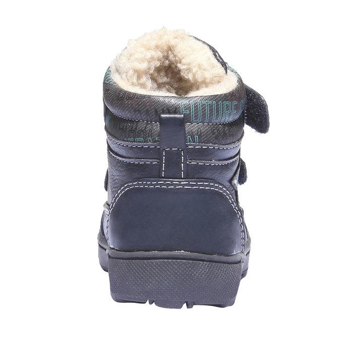 Kids shoes mini-b, modrá, 111-9103 - 17