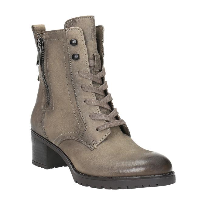 Dámská kotníčková obuv bata, šedá, 696-2604 - 13