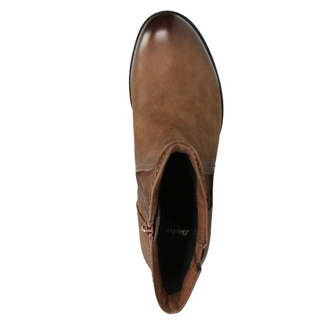 Dámská kotníčková obuv bata, hnědá, 696-4603 - 19