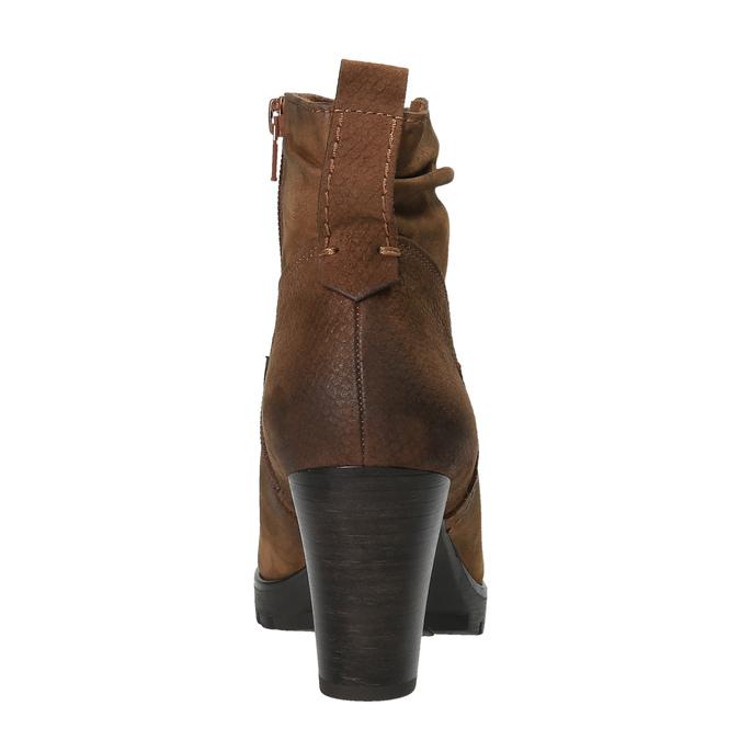 Dámská kotníčková obuv bata, hnědá, 796-4600 - 17