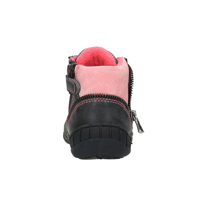 Dětská kotníčková obuv bubblegummer, šedá, 121-2611 - 17