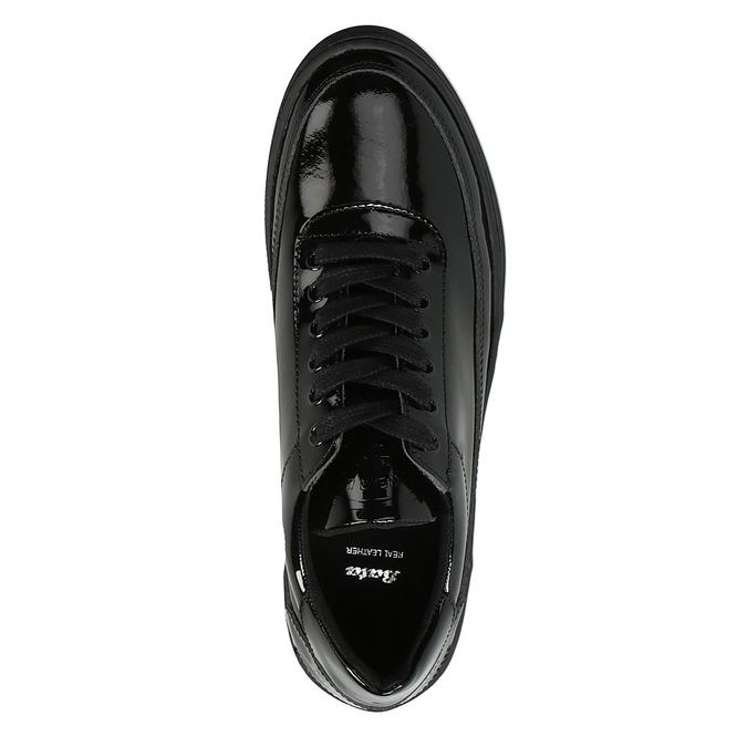 Dámské lakované tenisky bata, černá, 528-6632 - 19