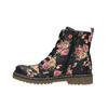 Dívčí kotníčková obuv s květinovým vzorem mini-b, černá, 321-9600 - 26
