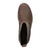 Dámské kožené Chelsea Boots clarks, hnědá, 696-4004 - 19