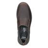 Pánské kožené Slip-on clarks, hnědá, 816-4004 - 19