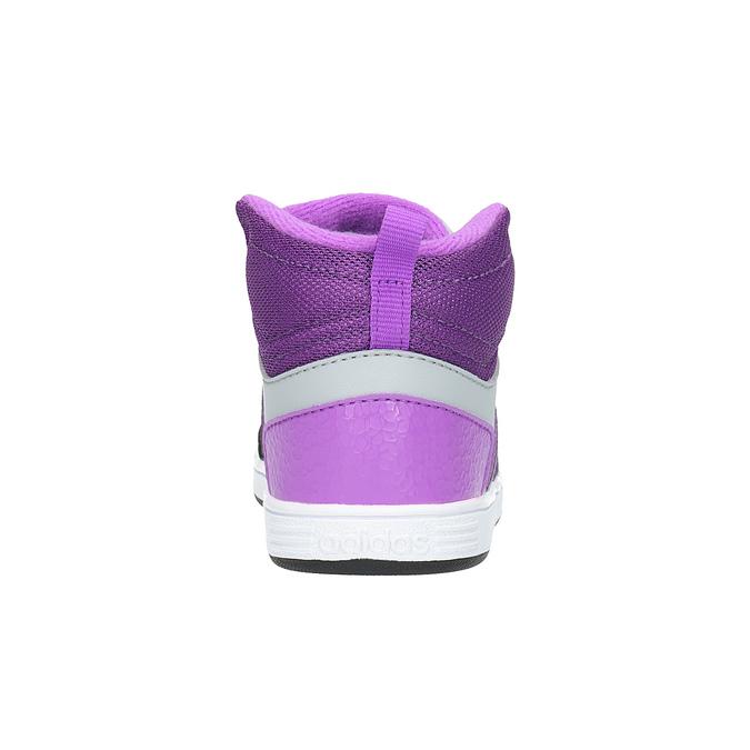 Dětské kotníčkové tenisky adidas, šedá, 101-2231 - 17