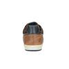 Ležérní kožené tenisky bata, hnědá, 844-4622 - 17