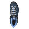 Kožená kotníčková obuv v Outdoor stylu salomon, modrá, 643-9051 - 19