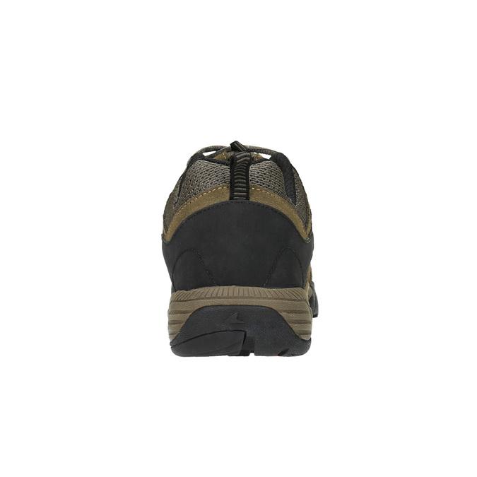 Kožená obuv v Outdoor stylu power, hnědá, 803-3109 - 17