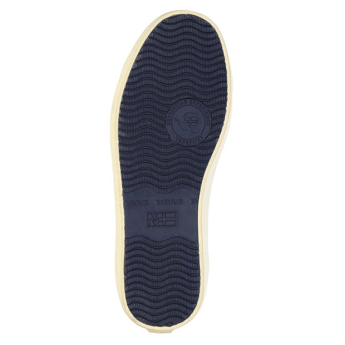 Ležérní kožené tenisky napapijri, hnědá, 844-4007 - 26