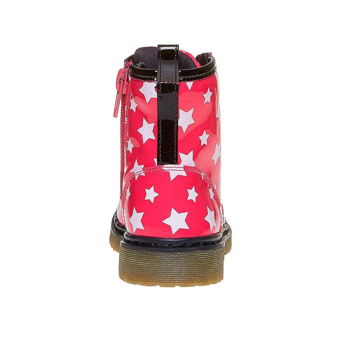 Dětská kotníčková obuv s hvězdičkami mini-b, růžová, 291-5159 - 17