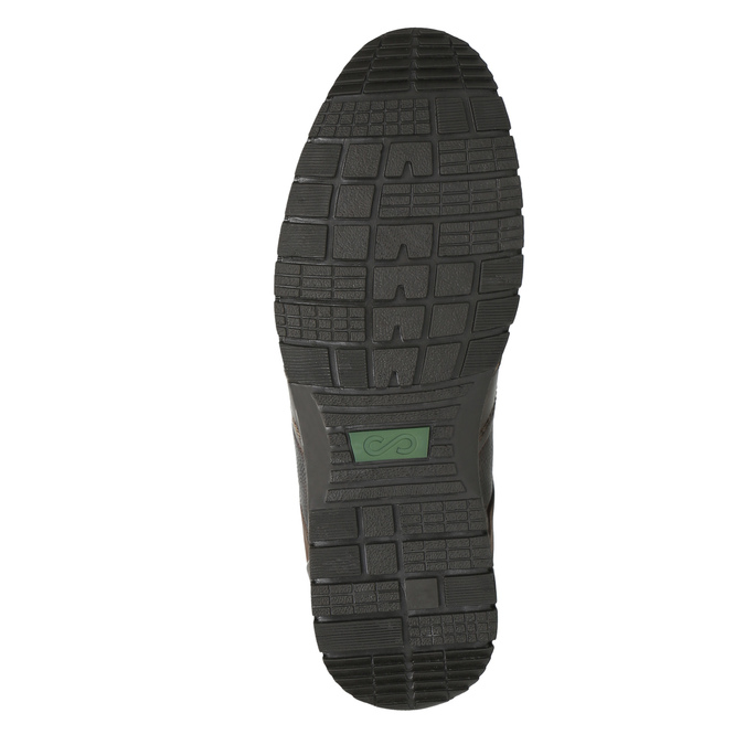 Ležérní kožené polobotky bata, hnědá, 826-4652 - 26