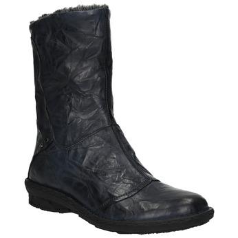 Dámská zateplená obuv bata, modrá, 596-9624 - 13