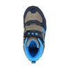 Chlapecká kotníčková obuv na suché zipy bubblegummer, šedá, 291-2600 - 19