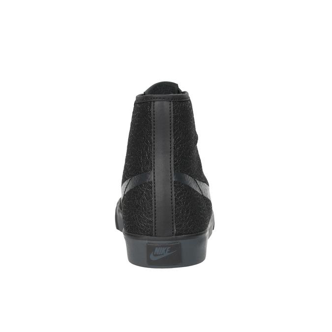 Černé kotníčkové tenisky nike, černá, 501-6342 - 17