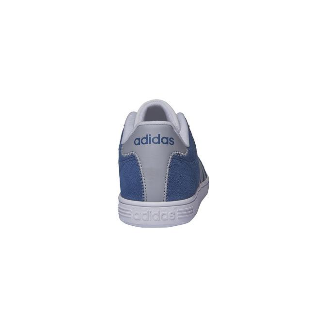 Pánské kožené tenisky adidas, modrá, 803-9132 - 17